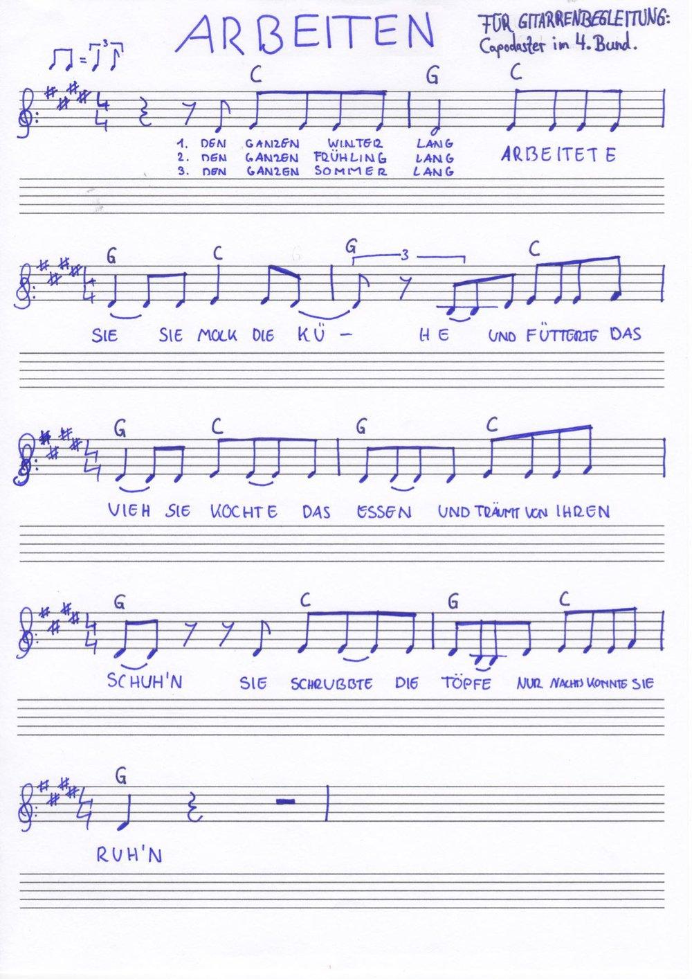 Das Lied zum Mitsingen!