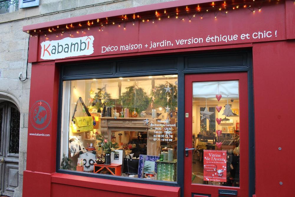 Kabambi   Audierne - 6 rue Gambetta,29770 -    et sur la boutique en ligne  kabambi.com