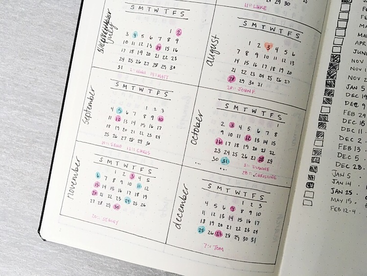 Dot Calendar Bullet Journal : How to bullet journal the absolute ultimate guide —