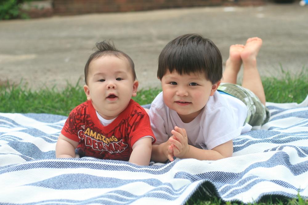 My boys in 2012.