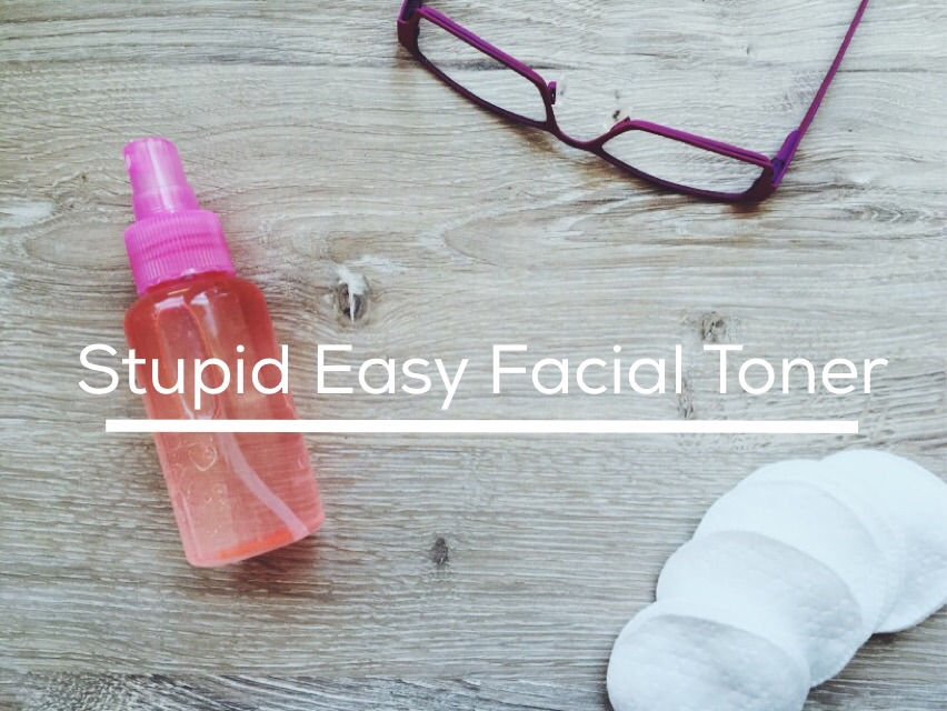 Stupid Easy Facial Toner