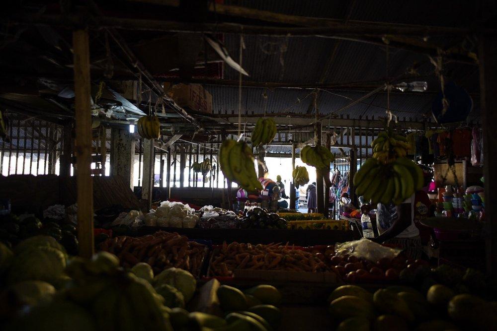 Fruit Market Mazes.