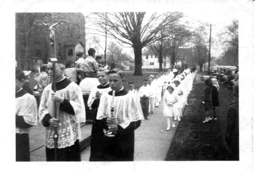 First Communion Procession