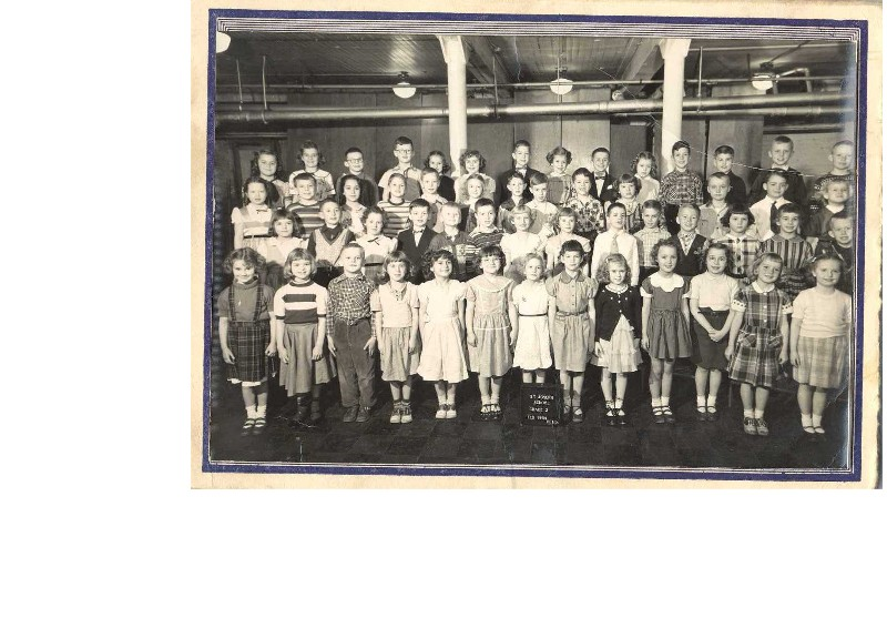 1954 Second Grade Picture Compliments of Life Touch N.S.S. Studio