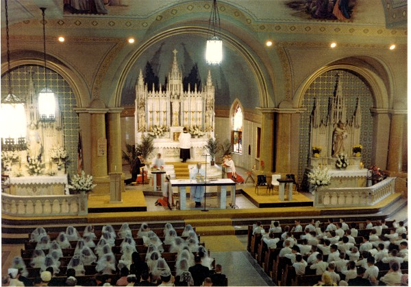 First Communion 1967