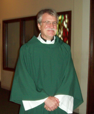 Deacon John serves the people of St. Joseph Parish.