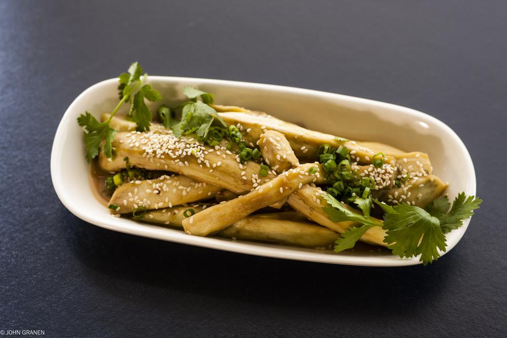 Silky Eggplant Salad