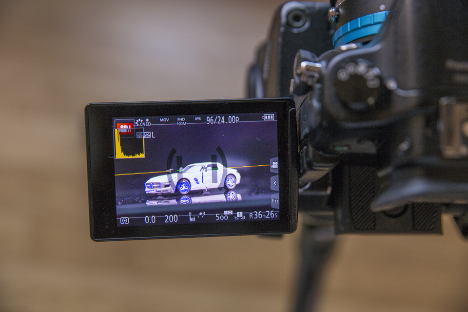 The whole video was shot on a Panasonic GH4 with a Canon 50mm f/1.4 and Canon 100mm f/2.8L.