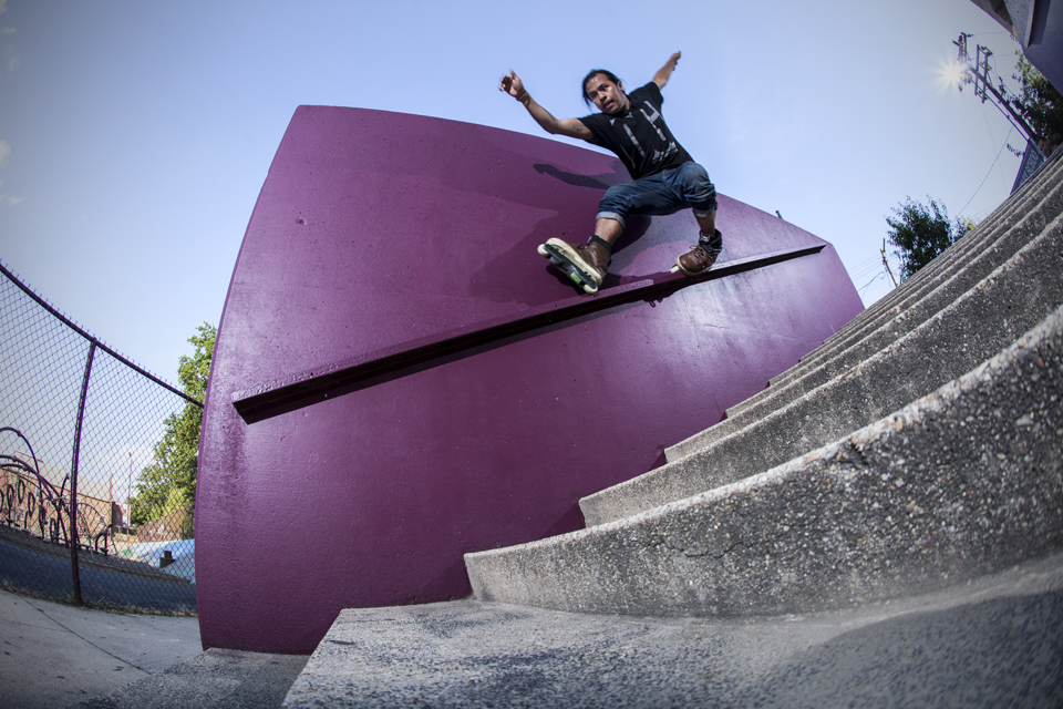 Franco Cammayo - Rough X Grind in Washington DC  Canon 6D, Canon 15mm f/2.8 Fisheye (iso200, f/7.1, 1/200s)