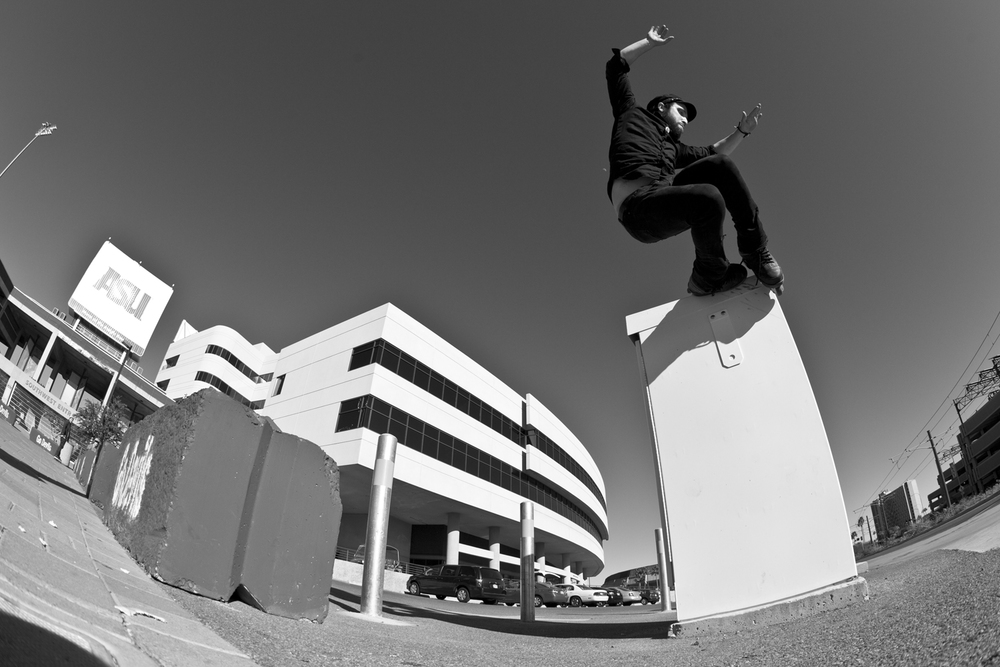 Mike Lilly - Gap to Top Soul in Phoenix, AZ in 2010  Canon 5D Mark II, Canon 15mm f/2.8 Fisheye (iso400, f/7.1, 1/2000s)