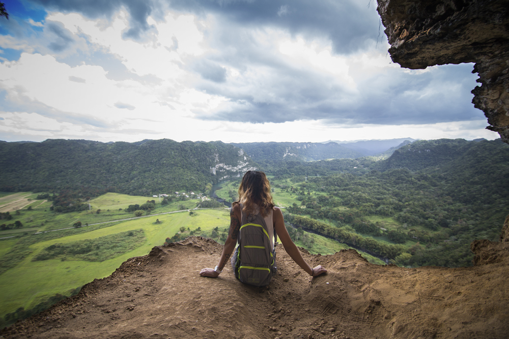 A little POV overlook of Arecibo.  Canon 6D, Tokina 11-16mm f/2.8 @16mm (iso400, f/4, 1/500s)