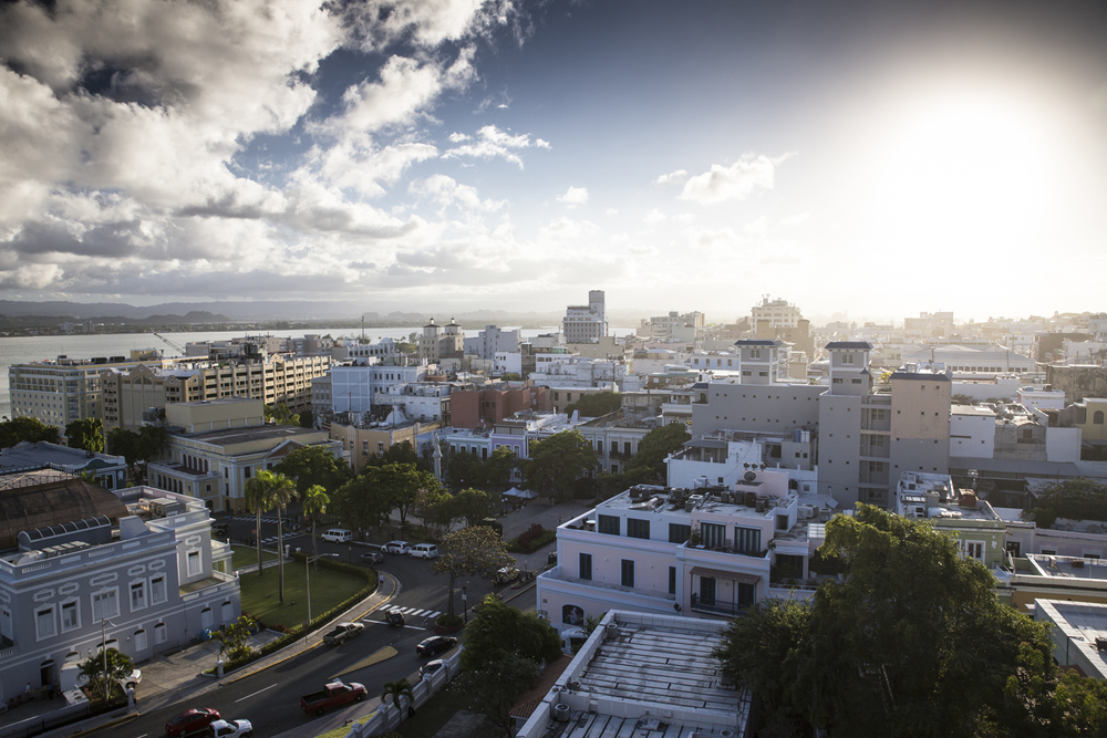 Here is another shot of Old San Juan from one of the forts.   Canon 6D, Tamron 24-70mm f/2.8 @24mm (iso100, f/5.6, 1/400s)