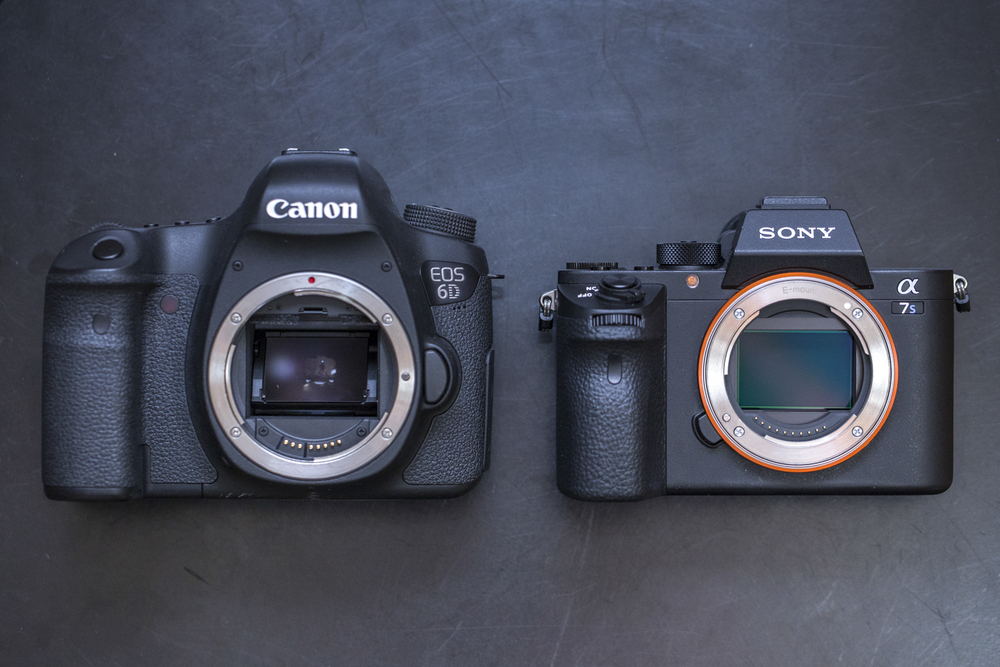 Canon 6D Compared to the Sony A7S II