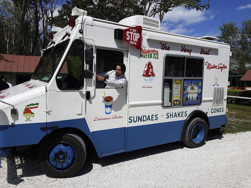 ice cream truck austin paz