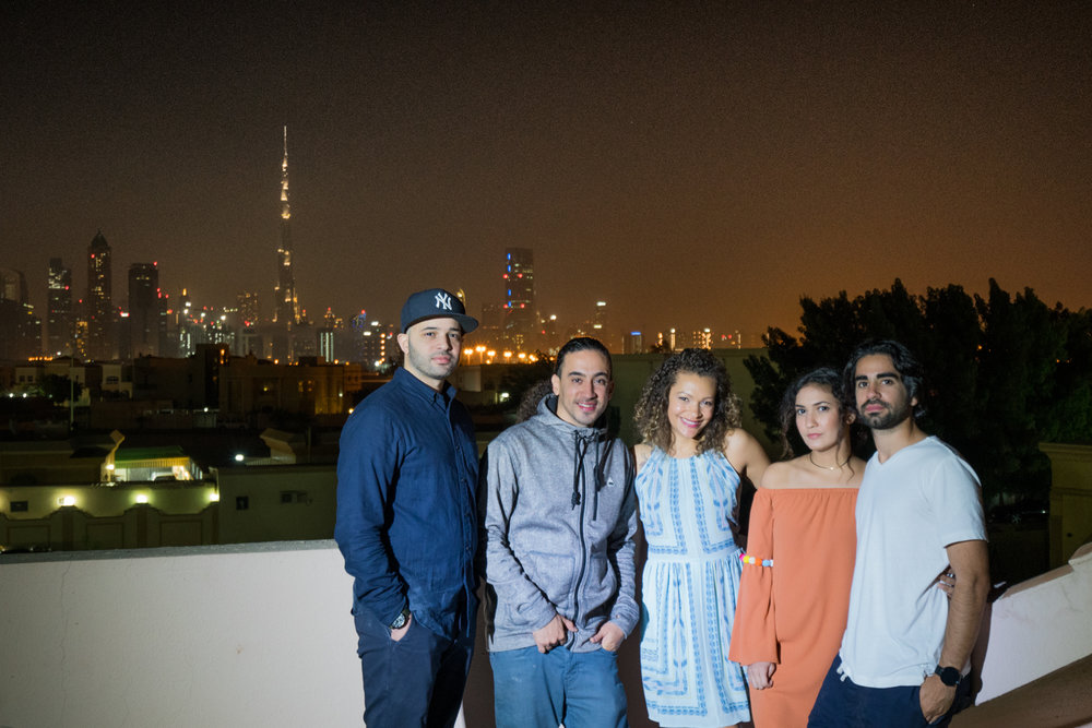 Here is the crew on the rooftop   Sony A7RII, Sony 16-35mm f/4 (iso2500, f/4, 1/13s)