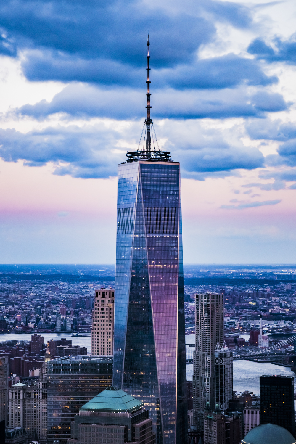Photo Of The Week 43 - Blue Hour Freedom Tower - New York ...