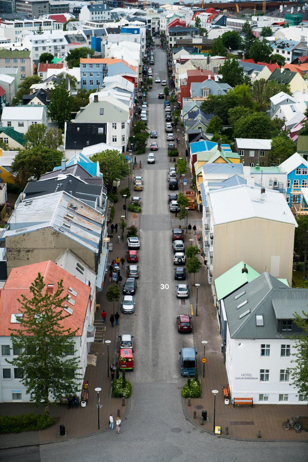 reykjavik iceland Hallgrímskirkja austin paz