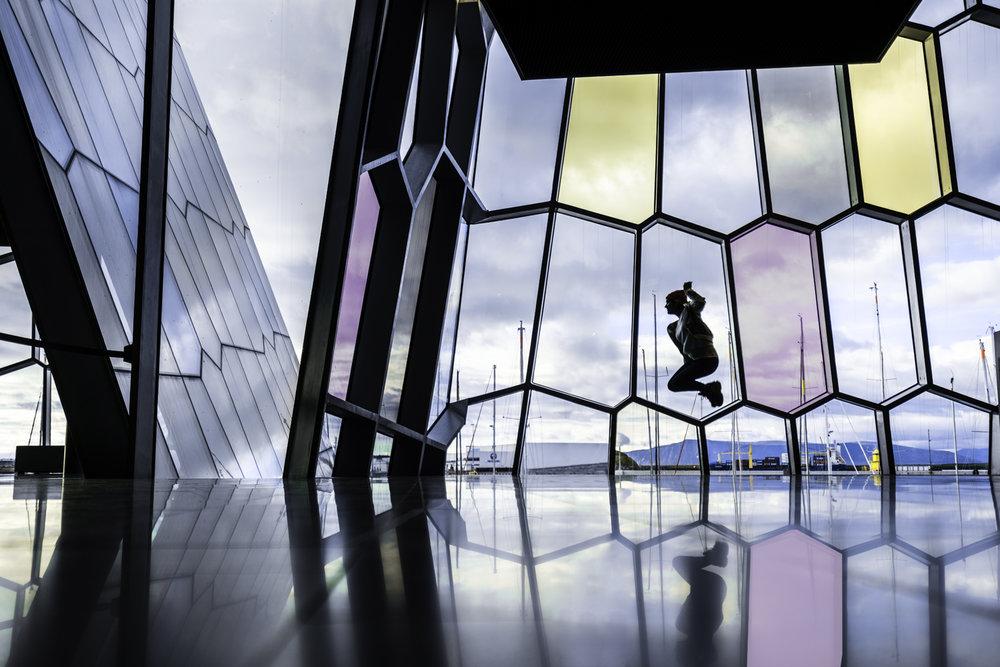reykjavik iceland harpa austin paz amanda lee