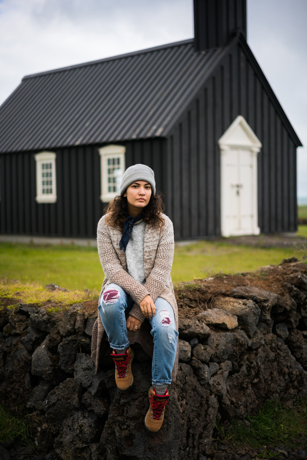 iceland black church Búðakirkja amanda lee  austin paz