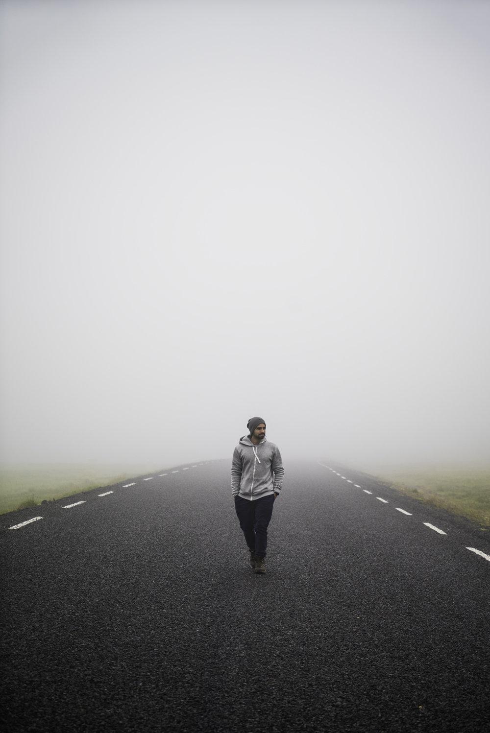 iceland fog landscape austin paz