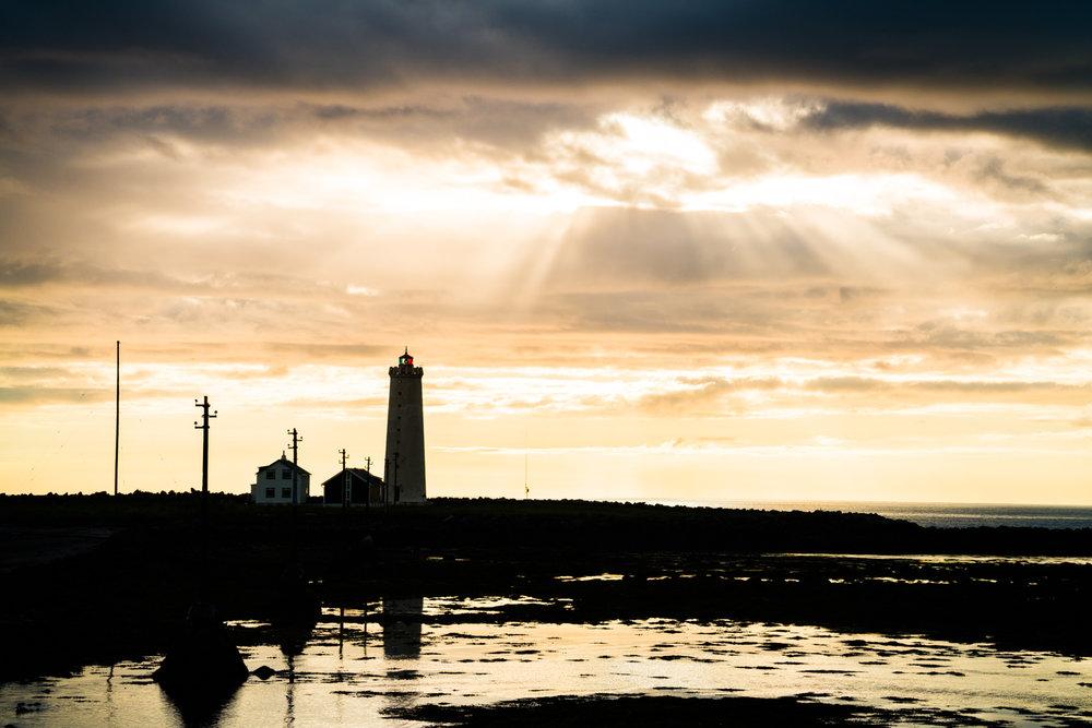 reykjavik iceland lighthouse landscape austin paz
