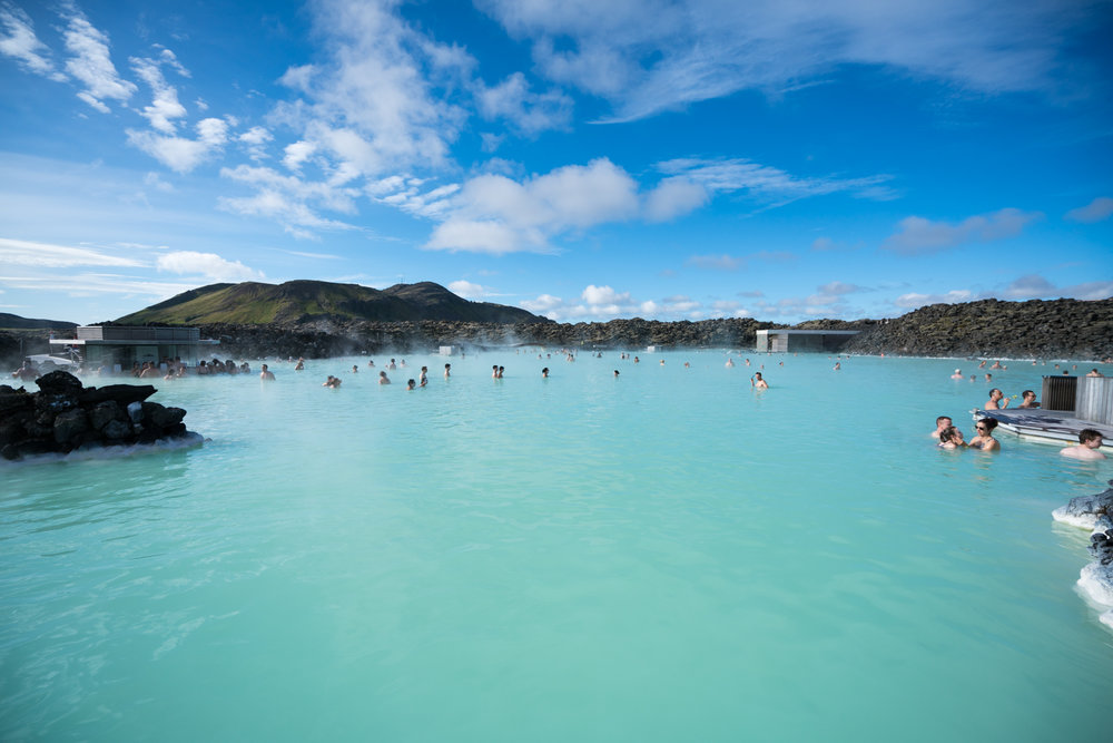 "This was the Blue Lagoon ""full"""