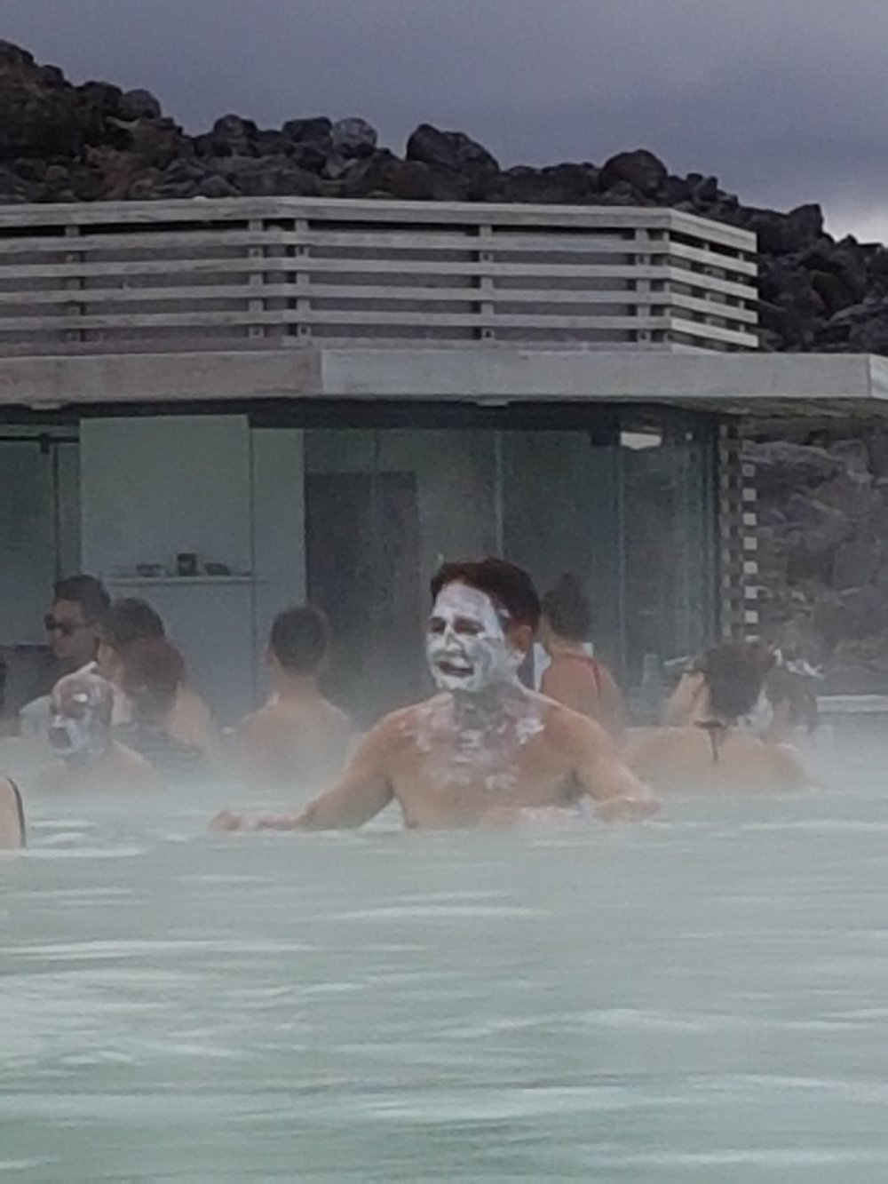blue lagoon icleland face mask