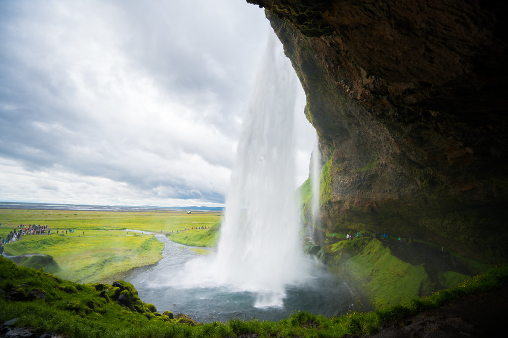 Seljalandsfoss travel photography austin paz