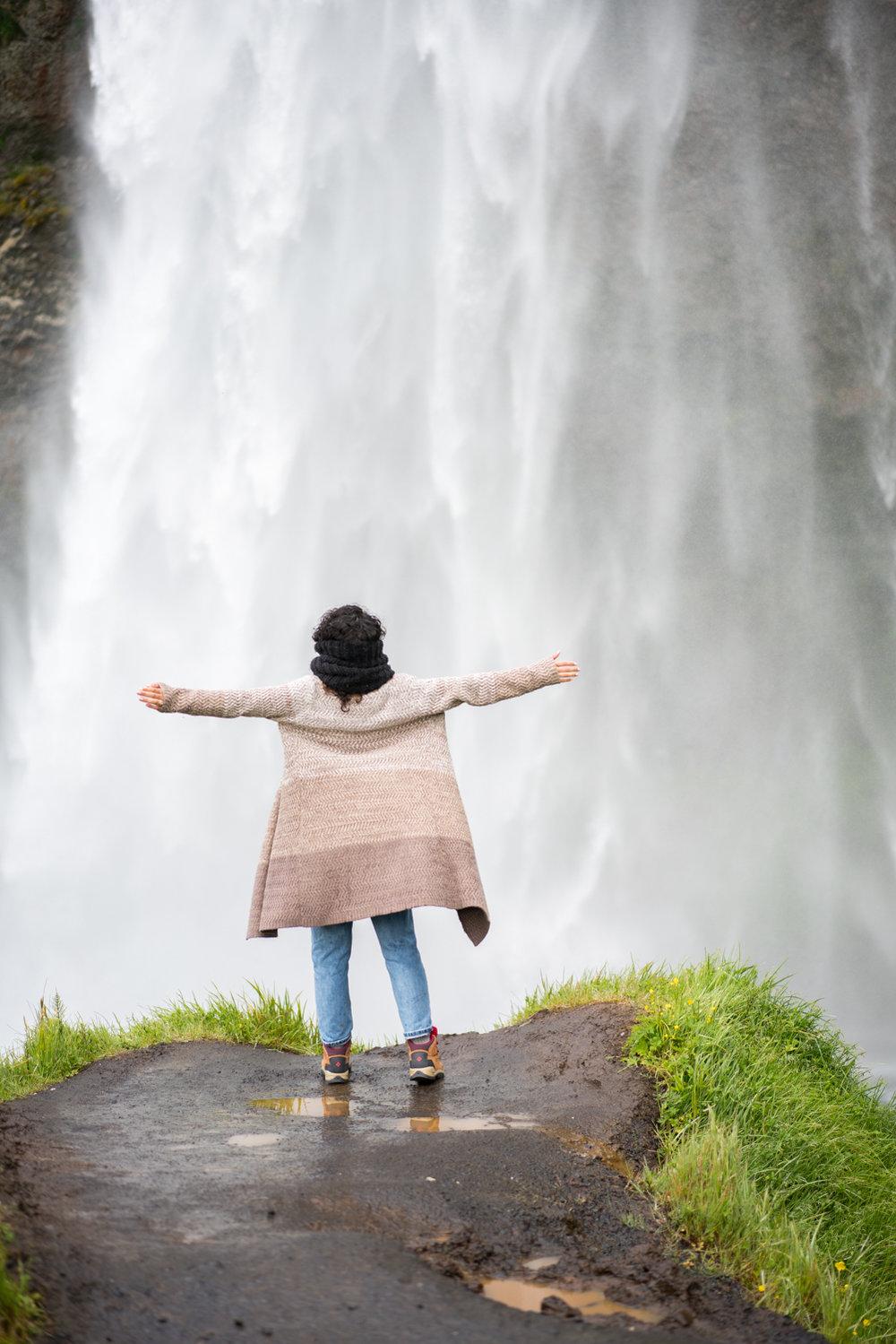 Seljalandsfoss travel photography austin paz amanda lee
