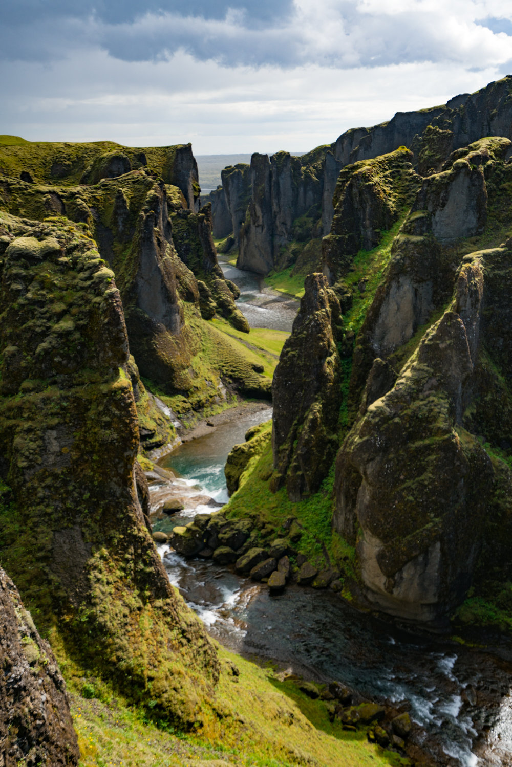 Fjaðrárgljúfur iceland landscape travel photography