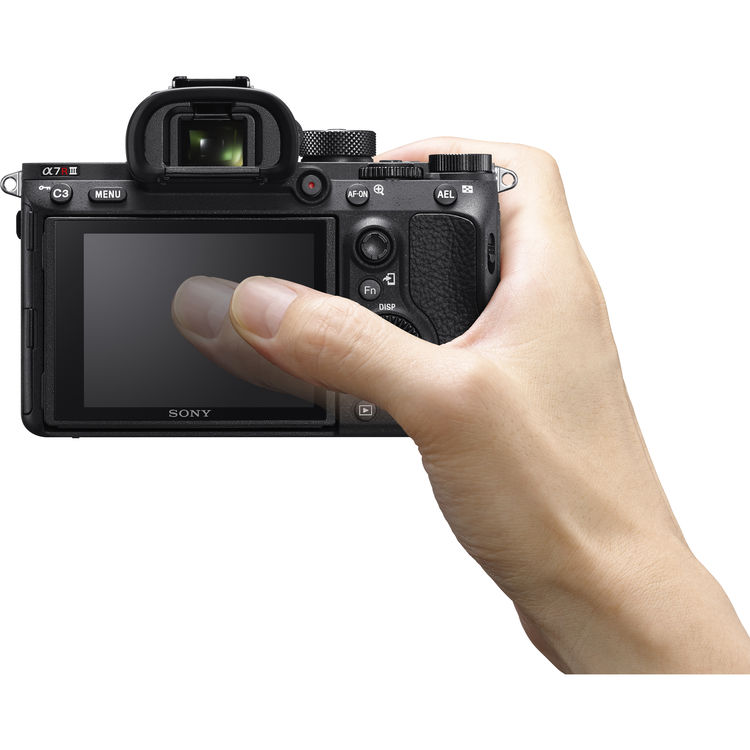 Touch Screen On The Sony A7RIII