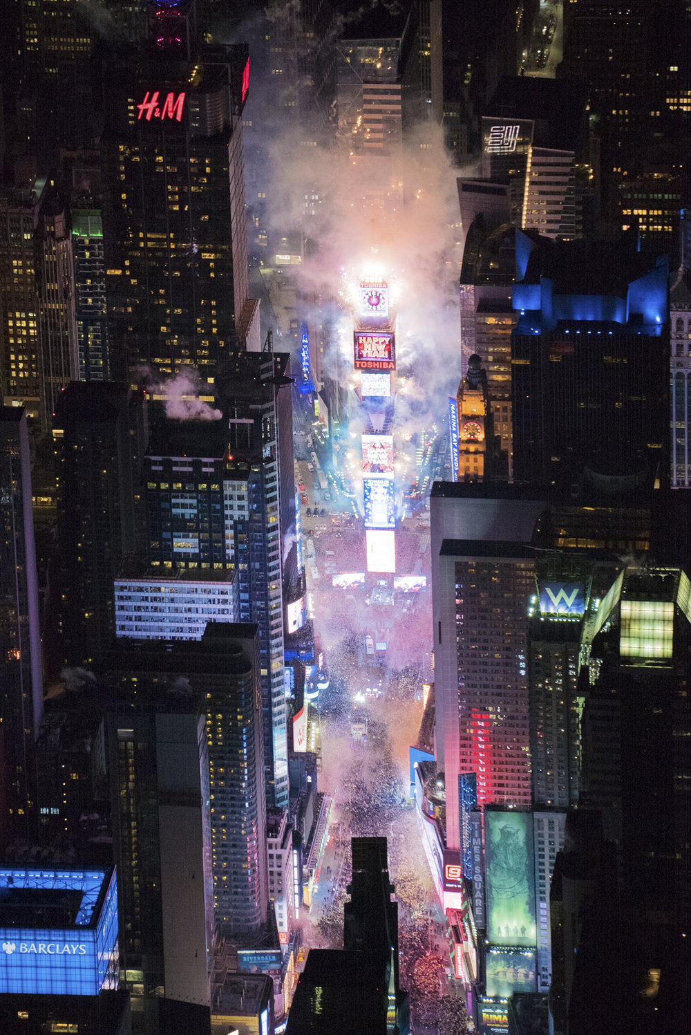 flynyon times square helicopter