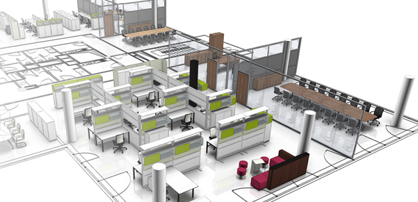 From Concept To Completion, Our Interiors Team Will Organise The Design And  Planning Of Your Office Space. This Includes 2D Floor Plans And Even  Detailed 3D ...