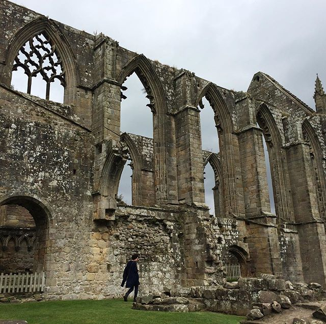 Ruinous Bolton Abbey