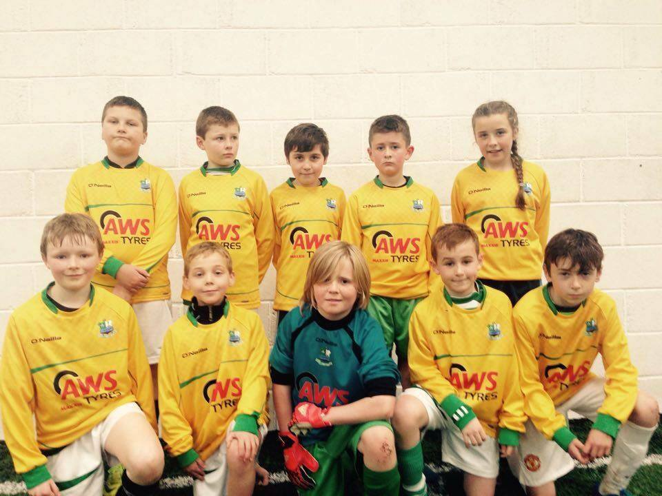 AWS Tyres sponsored under 12 moville team