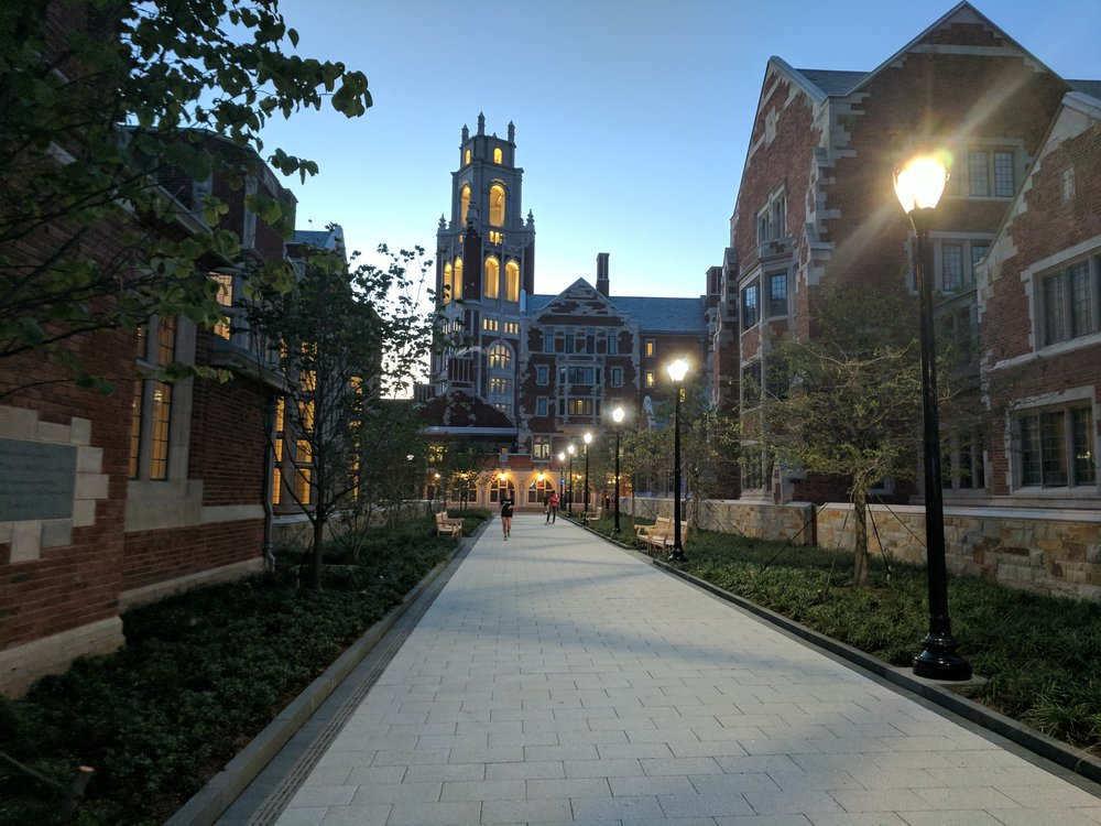 Yale University's Franklin and Murray Colleges