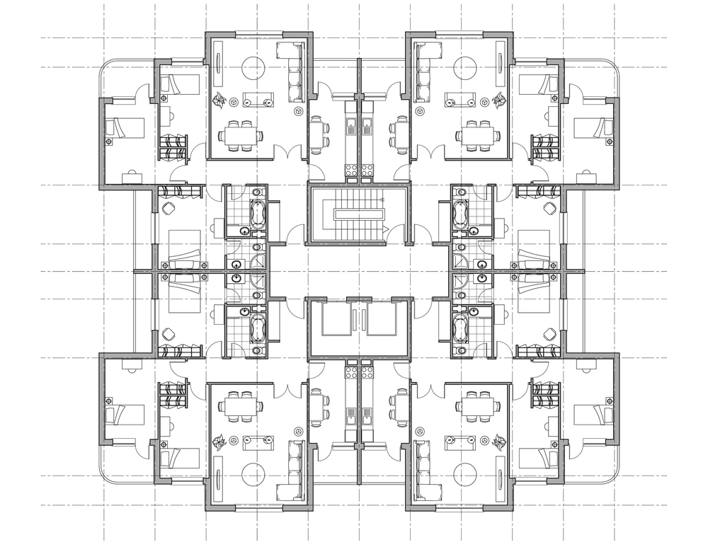 Hospitality Floor Plan and Interior Design