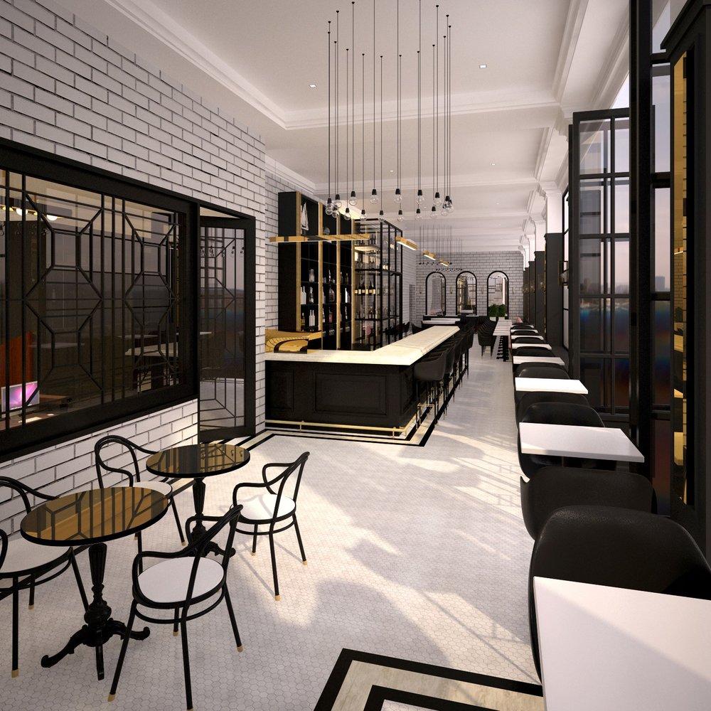Hospitality Floor Plan and Interior Design