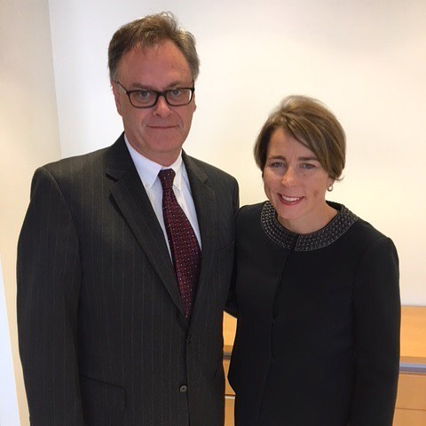 Catching up with @maura_healey following the announcement of her #lawsuit against #purduepharma for the creation of the #opioidepidemic
