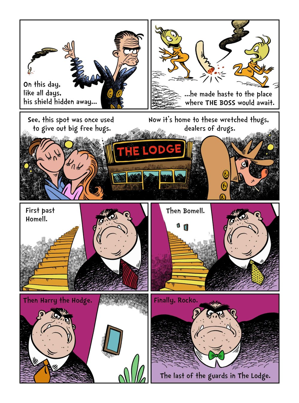 Image Fap Comics Ideal no dawn for a pawn (dr. seuss meets sin city) — james e. roche