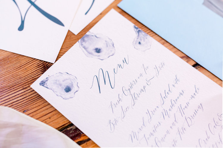 Wedding Weekend Paper Goods — Susan Wilson Designs
