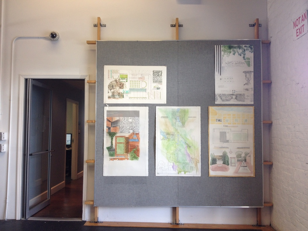 Project selected to be on display in Eichberg Hall
