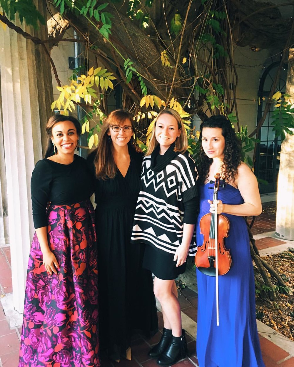 An Afternoon of Violin, Voice, and Piano at Van Vleck Gardens
