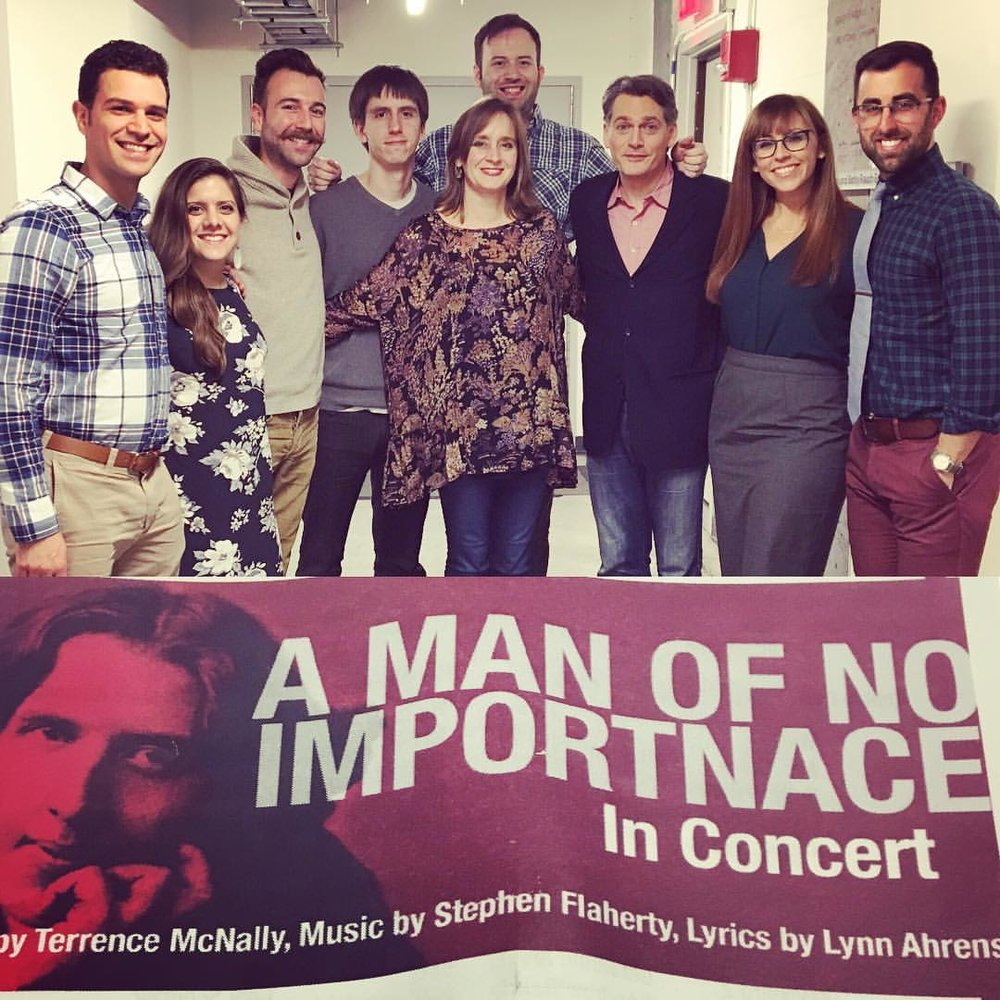 A Man of No Importance presented by Transport Group (music directed by Joey Chancey)