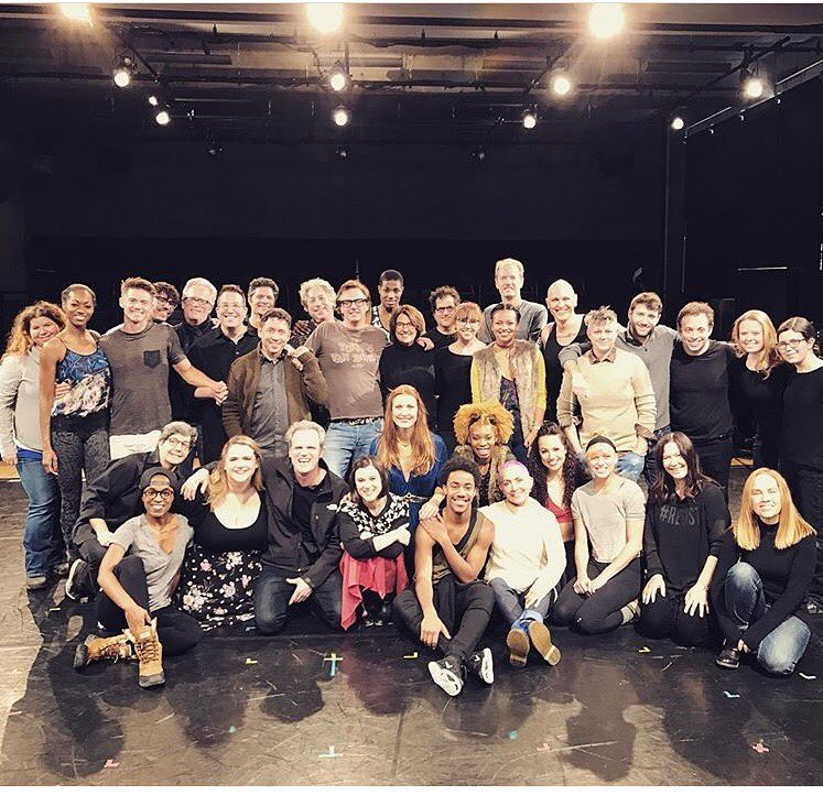 The Company of Head Over Heels (January 2017 Lab @ BAC)