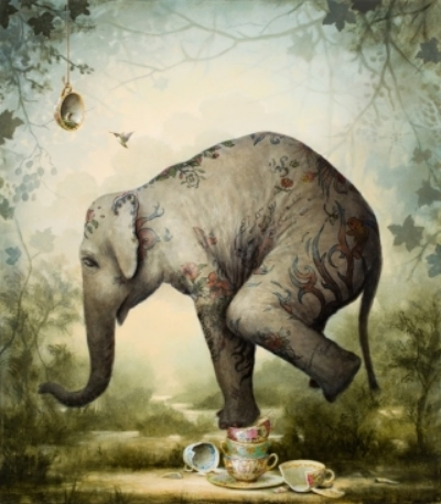 Kevin Sloan,  Our Fragile Past   ( kevinsloan.com )