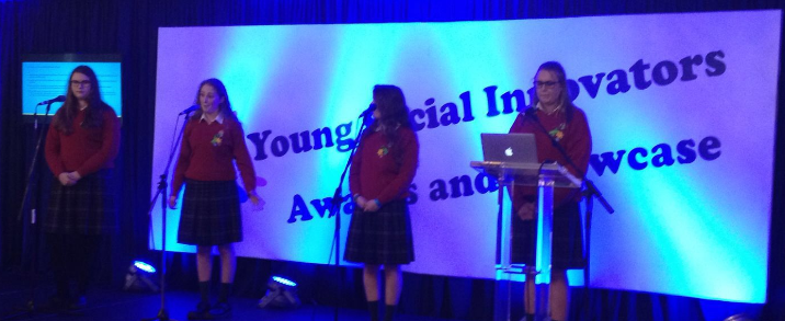 YSI  advocates making their presentation at the Speak Out