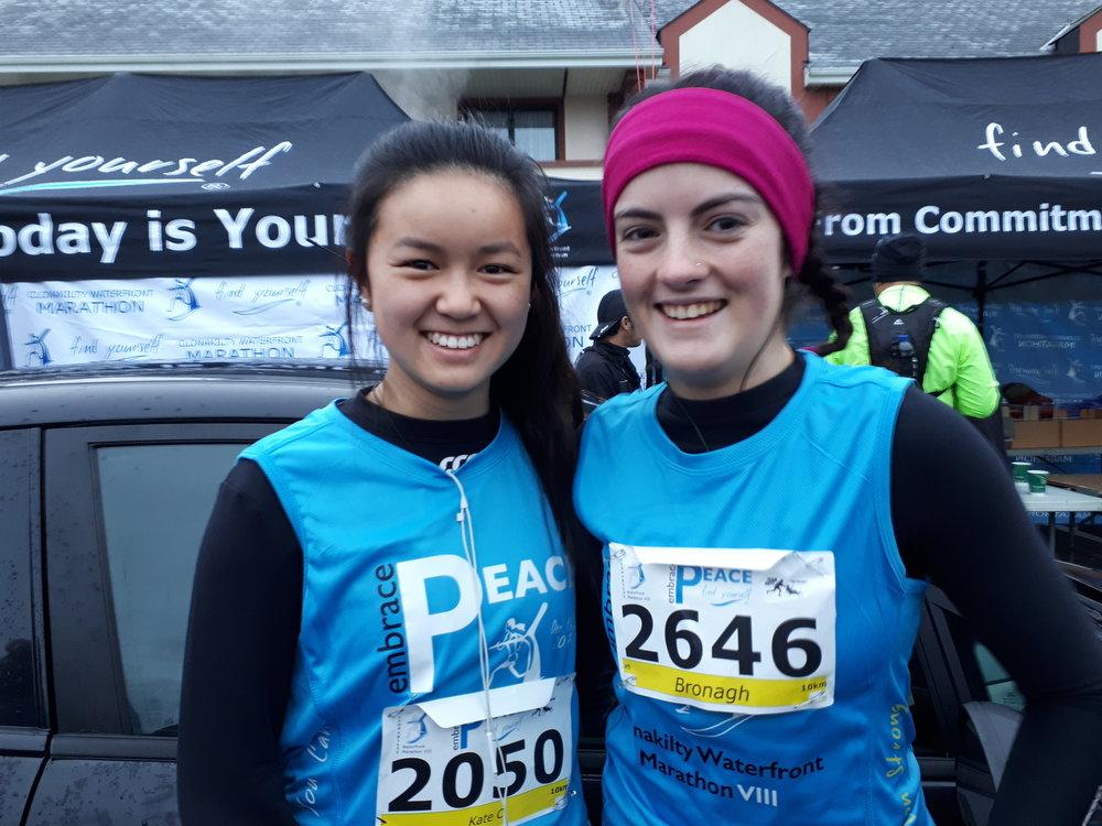 Kate Callaghan and Bronagh Deasy