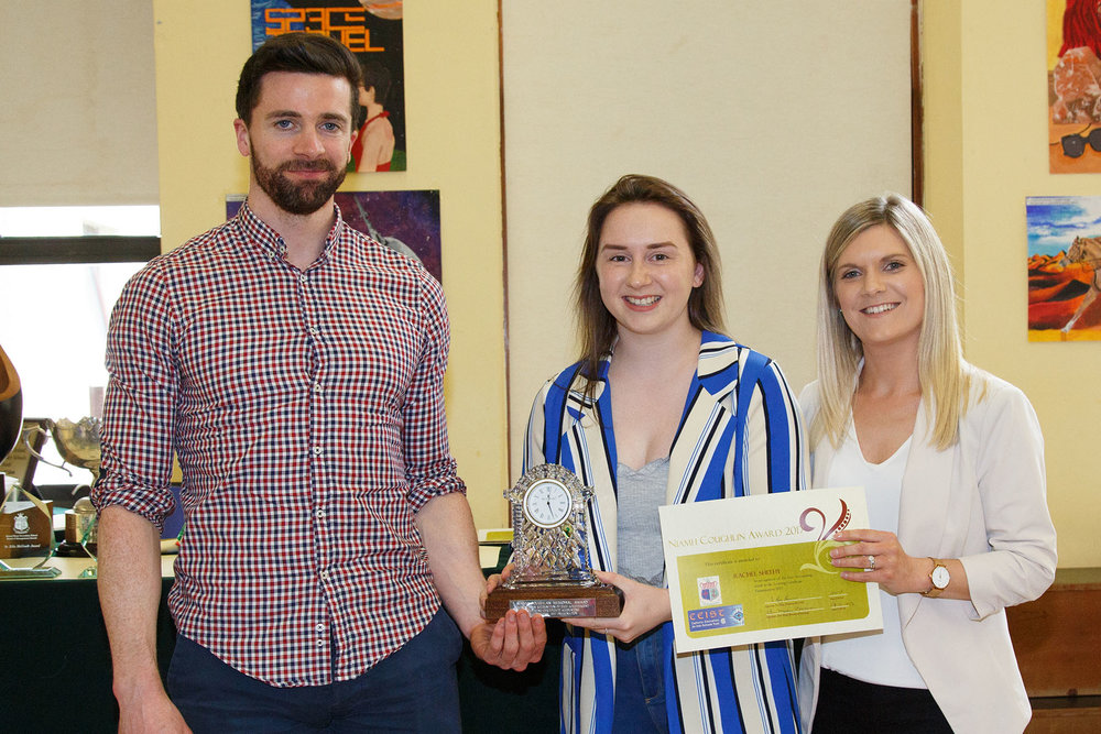 Niamh Coughlan Memorial Award: Rachel Sheehy