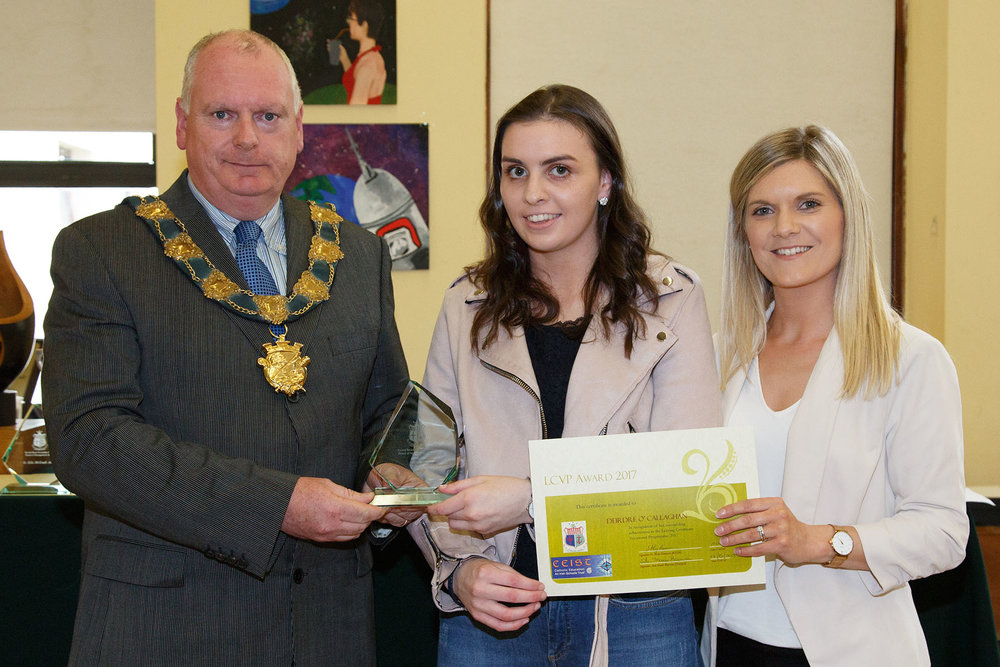 LCVP Student of the Year : Deirdre O'Callaghan